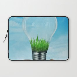 Save Green Concept Laptop Sleeve