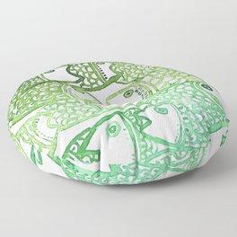 peixinho verde Floor Pillow