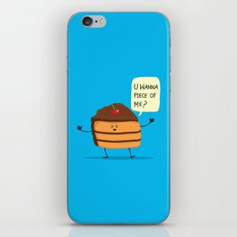 Trouble Baker iPhone Skin