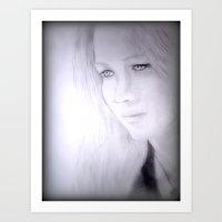 jennifer lawrence Art Prints featuring Jennifer Lawrence by Jamie Ezell