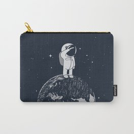Salutation from Earth Carry-All Pouch