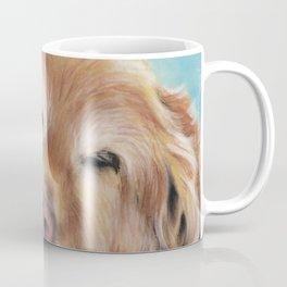 Sweet Sleeping Golden Retriever Puppy by annmariescreations Coffee Mug