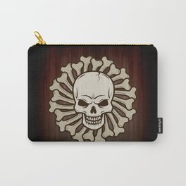 Angry skull Carry-All Pouch