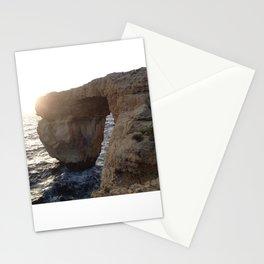 The Azure Window of Dwejra Stationery Cards