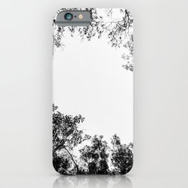 Minimalist Tree Branches & Shapes iPhone Case