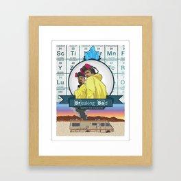 Heisenberg and company Framed Art Print