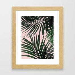 Delicate Jungle Theme Framed Art Print