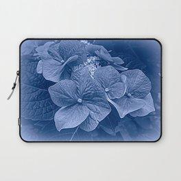 Hydrangea in Blue Laptop Sleeve