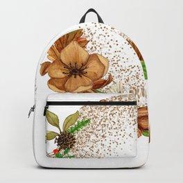 Enjoy - Fall flowers Backpack