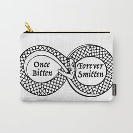Once Bitten, Forever Smitten Carry-All Pouch