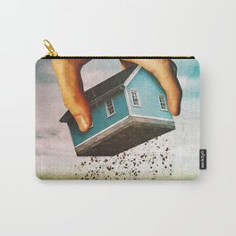 Pluck     surreal, surrealism, digitalart, digitalcollage, collage, graphicdesign, photoshop, photom Carry-All Pouch