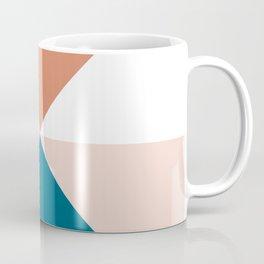 Split X Nude Teal Coffee Mug