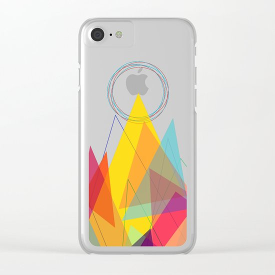 Holy Mountain Clear iPhone Case