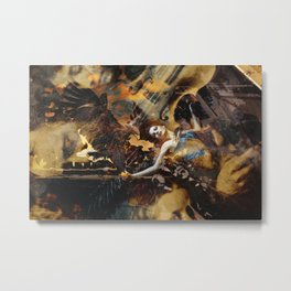 wasted Metal Print