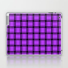 Light Violet Weave Laptop & iPad Skin