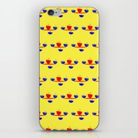 breakfast iPhone & iPod Skins featuring Breakfast by lillianhibiscus