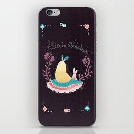 Alice In Wonderland. iPhone Skin
