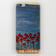 Sea of poppies. iPhone & iPod Skin