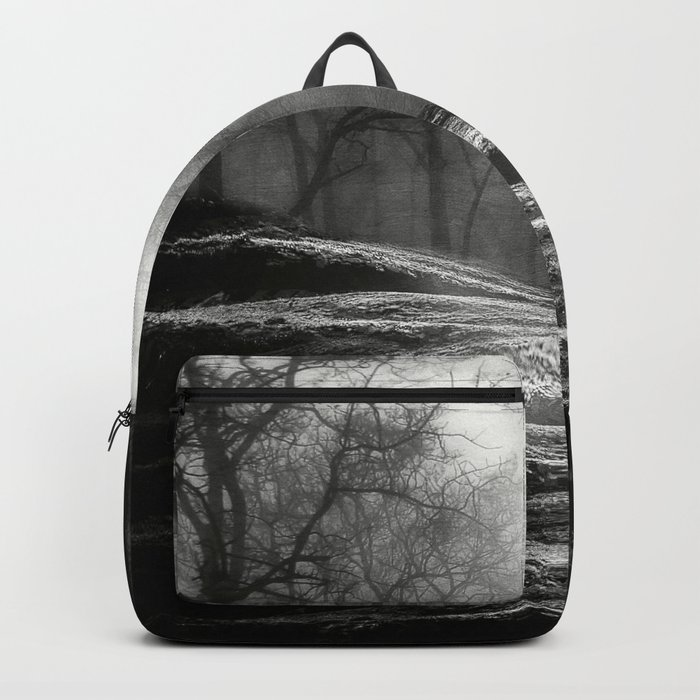 Black and White - From small beginnings and big endings Backpack
