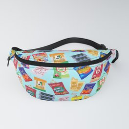 Asian Snack Pattern Fanny Pack