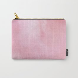 Rose Pink Marble texture Carry-All Pouch