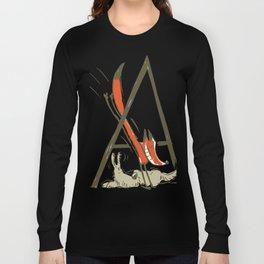 Fox jump Long Sleeve T-shirt