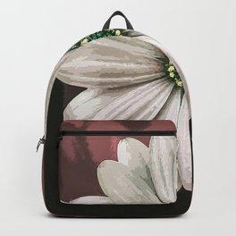 Innocent White Flower Backpack