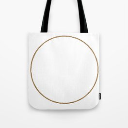 Rope Circle Tote Bag