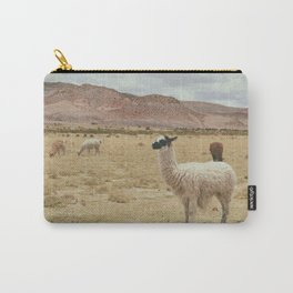 Lama Pampa bolivie Carry-All Pouch