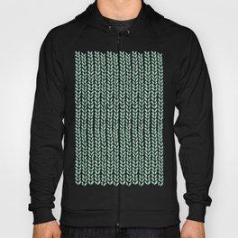 Knit Wave Mint Hoody