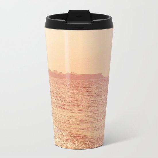 PURE SHORE Metal Travel Mug