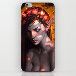 Forest elf iPhone Skin