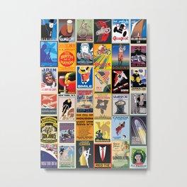 Poster Wallpaper Metal Print