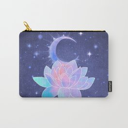 moon lotus flower Carry-All Pouch