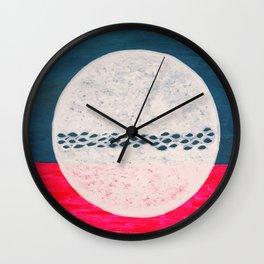 My Moon My Man Wall Clock