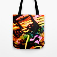 matisse Tote Bags featuring Matisse Notes by RIA CURLEY: Limited Edition Digital Art