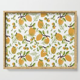 Lemons Serving Tray