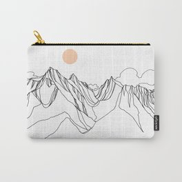 Mount Jumbo :: Single Line Carry-All Pouch
