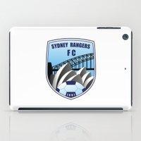 fire emblem iPad Cases featuring Emblem by Sydney Rangers FC