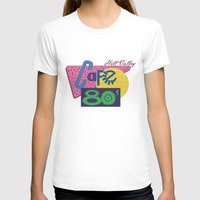 80s T-shirts featuring Cafe 80s by Loku