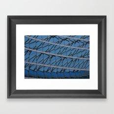 Intersections Framed Art Print