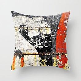 'TYPEDECAY' Throw Pillow