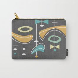 Swank Mid Century Modern Abstract Carry-All Pouch