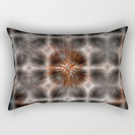 Dandelion Plasma Grid Rectangular Pillow
