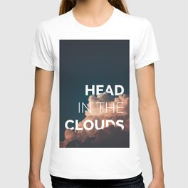 Head in the clouds poster T-shirt