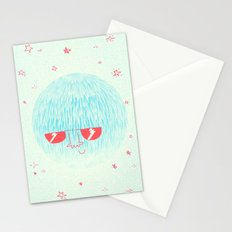 Chill Space Planet Stationery Cards