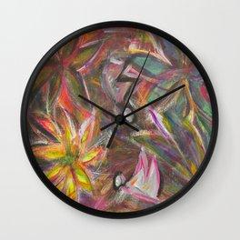 Butterfly Safari Wall Clock