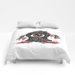 Eyeball Killer Comforters