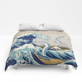 Haku and the Great Wave Comforters