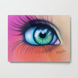 Kaleidoscopic Vision Metal Print